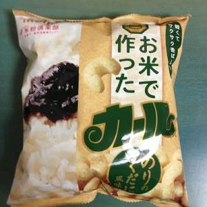 お米で作ったカール のりのつくだに風味