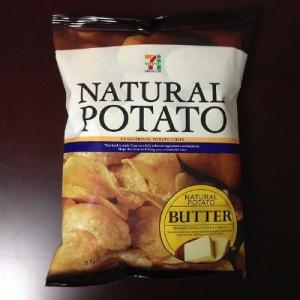 ナチュラルポテト バター味