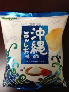ポテトチップス 沖縄の旨みしお味