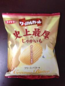 ワッフルカット クリーミーバター味