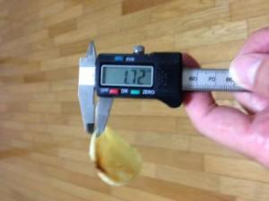 厚さ2.0倍 じゃがいもチップス うすしお味(2)