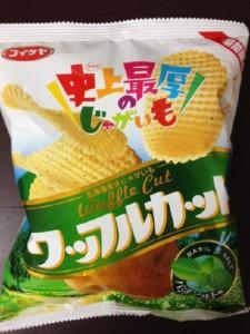 ワッフルカット バジルソルト味(コイケヤ)