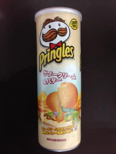 プリングルス サワークリーム&バター