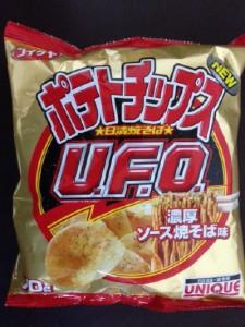 ポテトチップス 日清焼そばU.F.O.濃厚ソース焼そば味