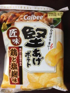 堅あげポテト 匠味 鶏と塩麹味