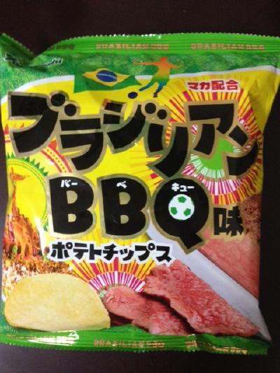 ポテトチップス ブラジリアンBBQ味