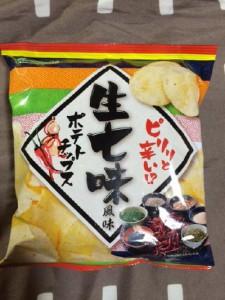 生七味風味 ポテトチップス